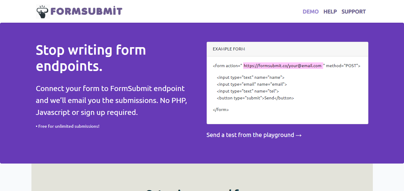 formsubmit